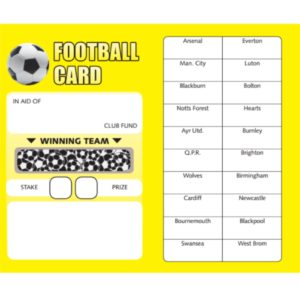 Football Cards 10 Pack